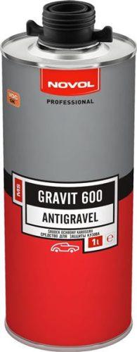 NOVOL Professional alvázvédő GRAVIT 600, fekete, 1L