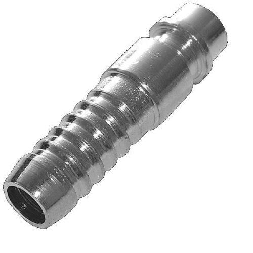 Csatlakozó dugó, krómozott acél, 12,5mm