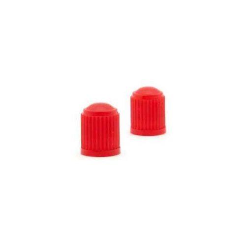 Szelepsapka, piros műanyag