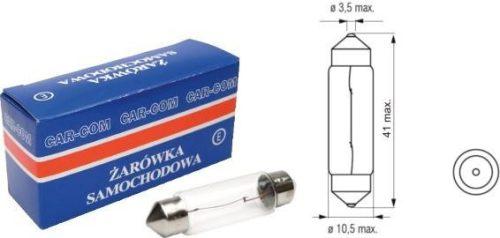 Carcommerce SV8.5 szofita izzó, 41mm, 10W, 12V