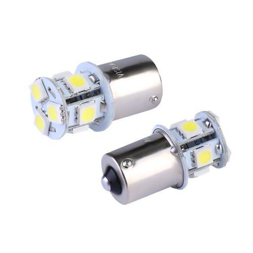Vision P21W izzó, BA15s, 12V, 8xSMD 5050 led, fehér,
