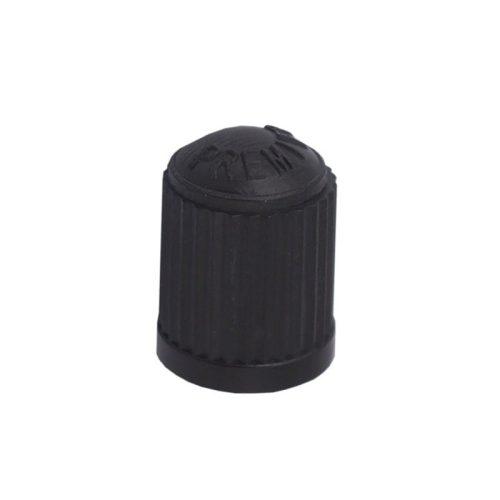 Szelepsapka, fekete műanyag