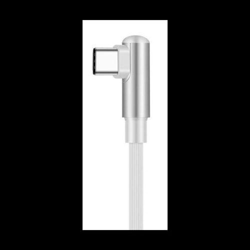 Telefontöltő kábel, micro USB type C, 2,1A