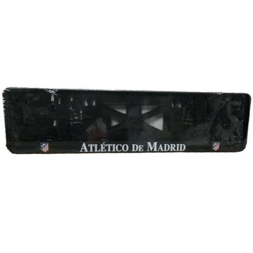 Rendszámtábla tartó, 3D feliratos, logós, Athletico Madrid