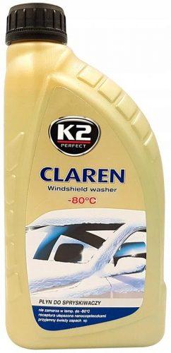 K2 téli szélvédőmosó koncentrátum, -80fokC, 1l, CLAREN