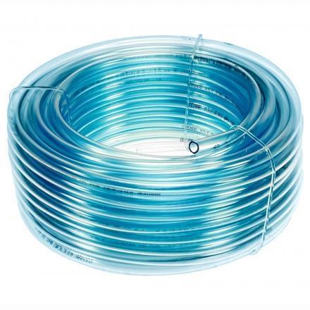 Üzemanyagcső, O12mm, kék átlátszó benzin- és olajálló tömlő