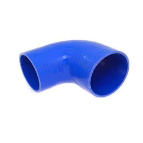 Szilikoncső, szűkítő könyök, 90fok, átmérő 16-19 mm, 150 mm