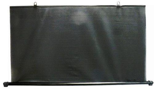 Napvédő roló, hátsó, 110cm, fekete