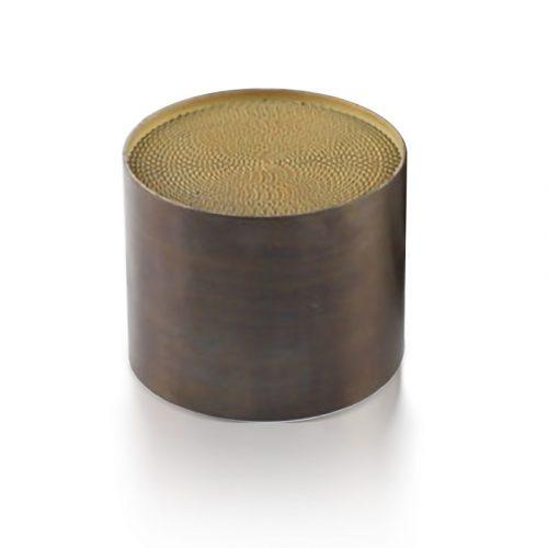 Katalizátor Betét, fém, 130 x 120 mm, EURO4 500cpsi