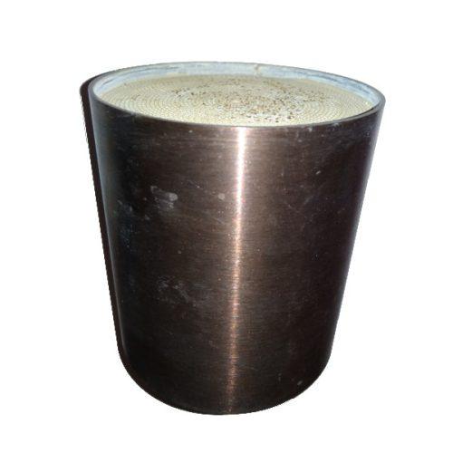 Katalizátorbetét, fém, 95 x 130 mm, EURO4