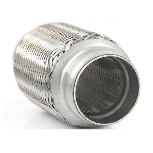 Flexibilis cső, 50x230 mm, 3 rétegű kipufogó rezonátor cső