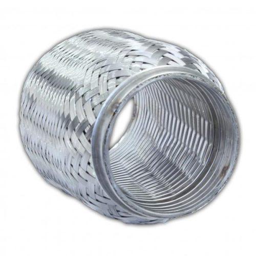 Flexibilis cső, 60x60 mm, 4 rétegű kipufogó rezonátor cső