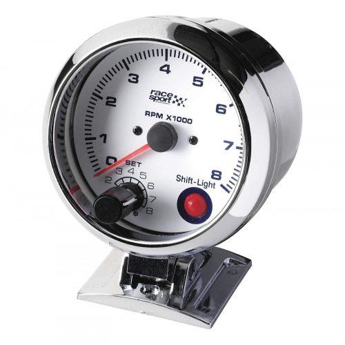 Fordulatszámmérő, váltást jelző fénnyel, RaceSport