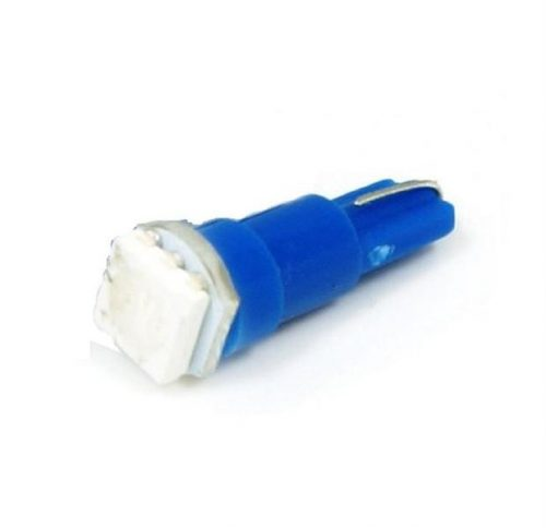 SBAutoparts T5 műszerfal izzó, 1xSMD led, 1W, 12V, kék