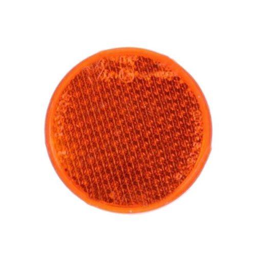 Prizma, kerek, narancs, csavarral, O85mm
