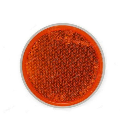 Prizma, kerek, narancs, csavarral, átmérő 60mm